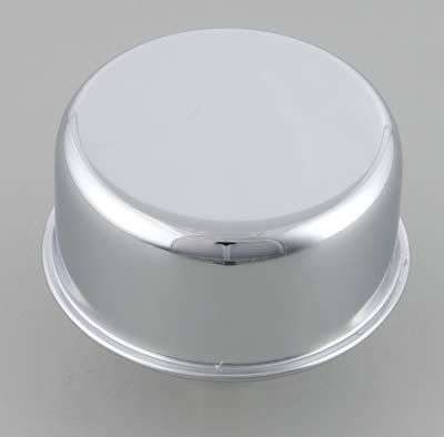 Chrome Oil Breather Cap Press In 1 1/4 Chevy Ford Dodge